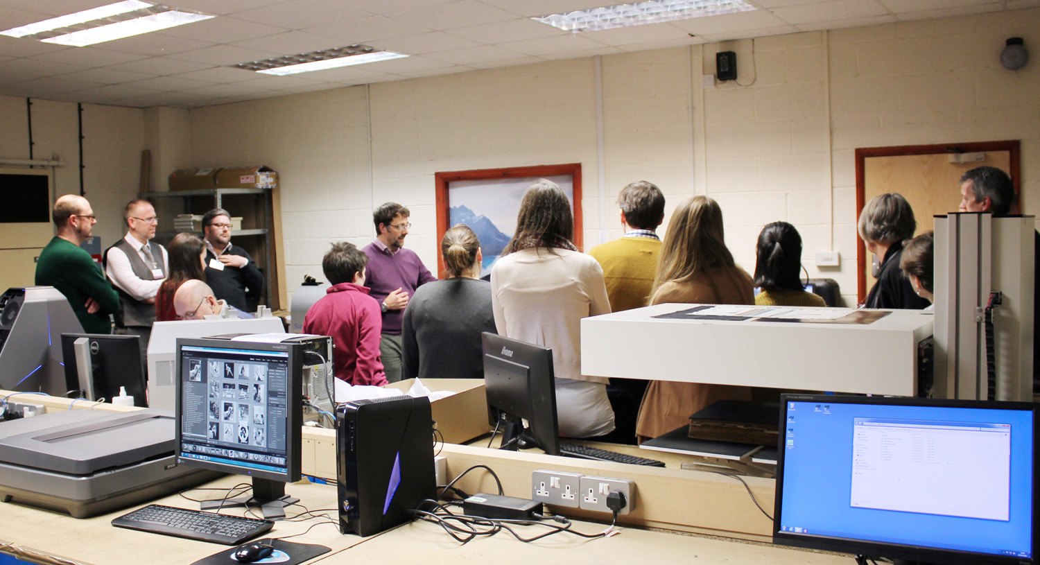The Digitisation Workshop Tour
