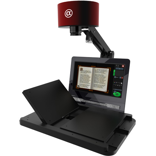 Metis EDS Alpha Book Scanner