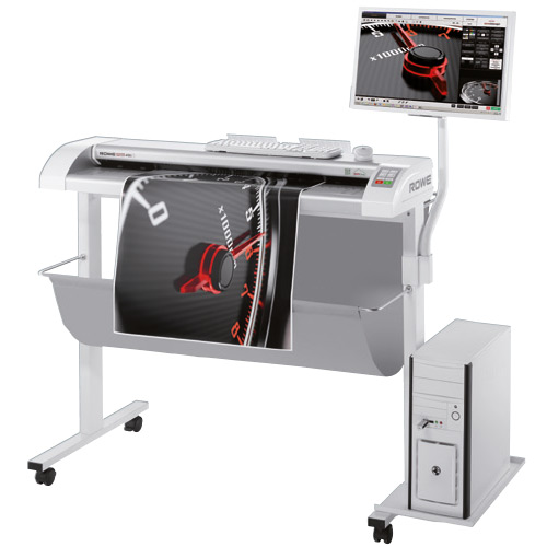 Rowe 450i large format sheet-fed scanners