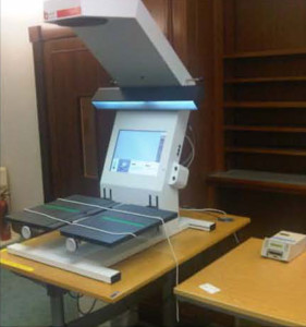 book2net Kiosk at the National Library of Scotland