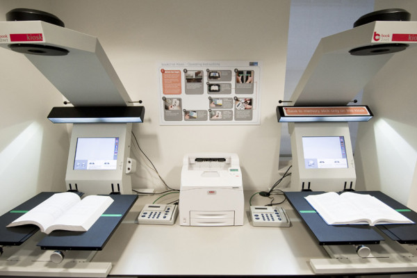 book2net Kiosks at The Wellcome Library