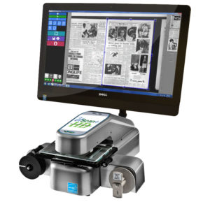 Wicks and Wilson UScan HD Digital Microfilm Scanner