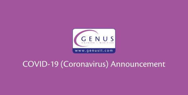 Genus Business Statement: COVID-19 Update