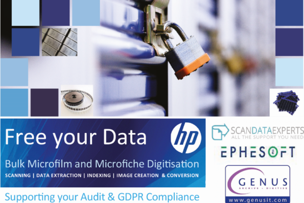 Secure Scanning and Data Extraction of Microfilm