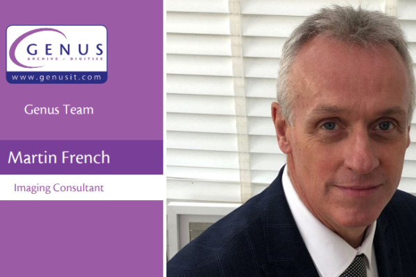 Martin French joins the Genus team