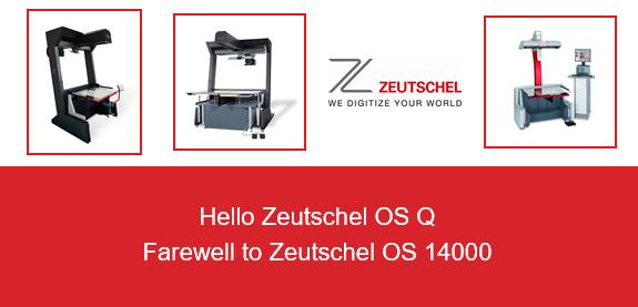 Hello Zeutschel OS Q Farewell to Zeutschel OS 14000