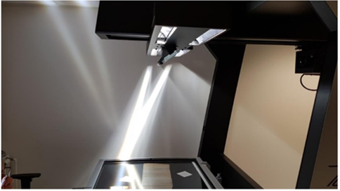 So, what large format scanner does comply with the very highest imaging standards?
