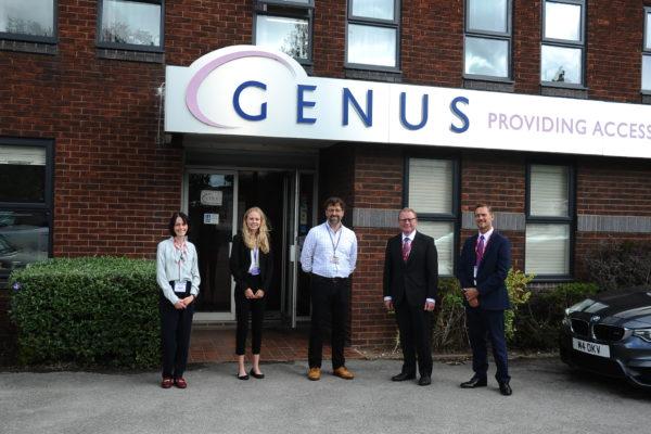 Marcus Jones MP Meets Local Apprentice Thriving At Nuneaton Digital Archiving Firm
